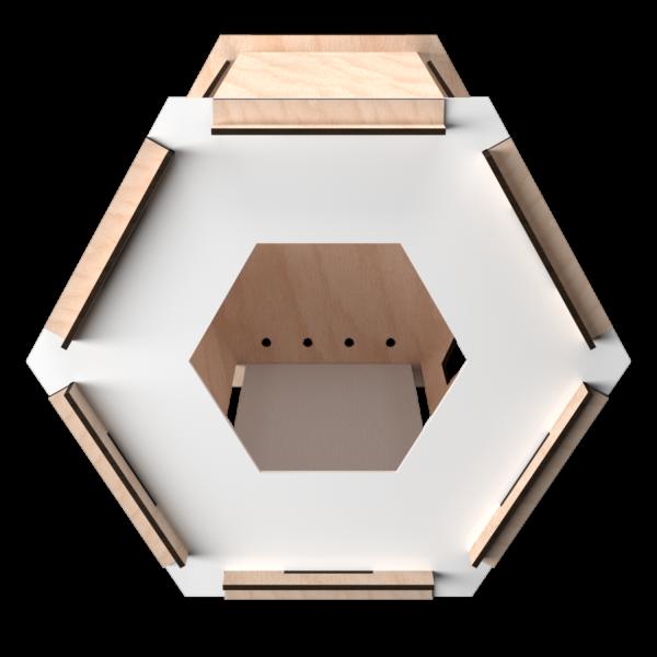 ESA Lounge Faggio White Front