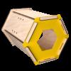 ESA Lounge Faggio Yellow Side